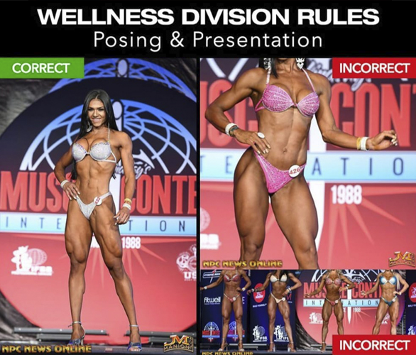 WELLNESS - Normativa y Reglas IFBBPro League 2019